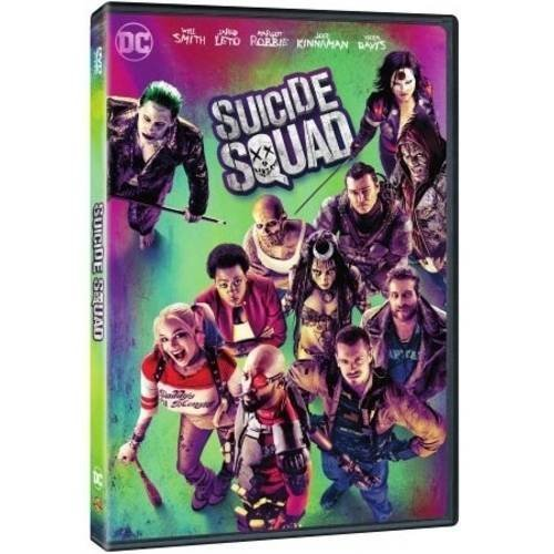 Suicide Squad Robbie Leto Smith DVD Walmart Version