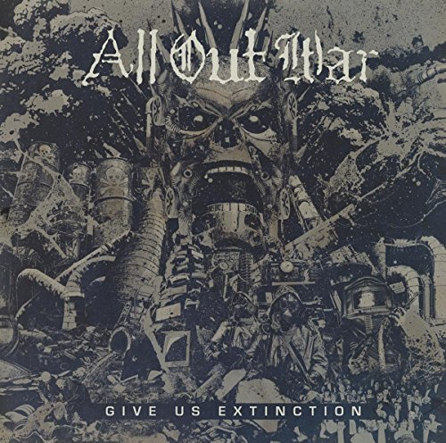 All Out War Give Us Extinction Lp
