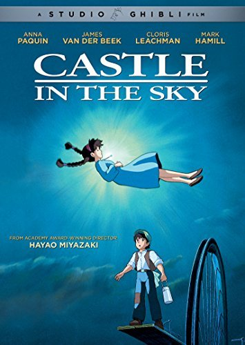 Castle In The Sky Studio Ghibli DVD Pg