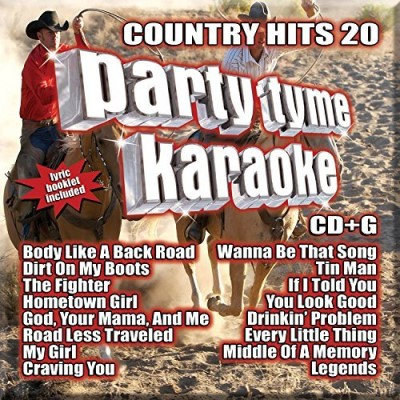 Party Tyme Karaoke Country Hits 20