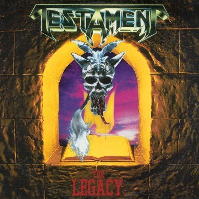 Testament The Legacy Green Vinyl Rocktober 2017 Exclusive