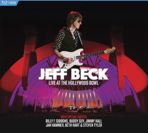 Jeff Beck Live At The Hollywood Bowl Blu Ray 2cd