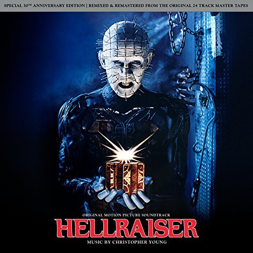Hellraiser Soundrtrack (translucent Red With Black Smoke Vinyl) Young Christopher Lp