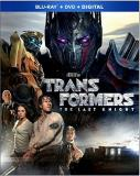 Transformers Last Knight Wahlberg Hopkins Blu Ray DVD Dc Pg13