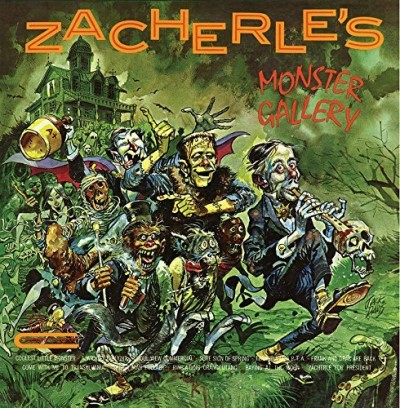 "John Zacherle Zacherle's Monster Gallery Limited Orange & Green ""pumpkin"" Vinyl Edition"