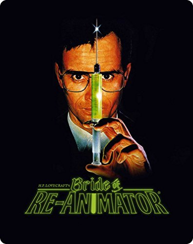Bride Of Re Animator Combs Abbot Blu Ray Limited Edition Steelbook