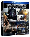 Transformers 5 Movie Collection Blu Ray