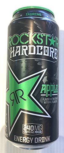 Beverage Rockstar Hardcore Apple