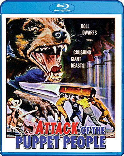 Attack Of The Puppet People Agar Hoyt Blu Ray Nr