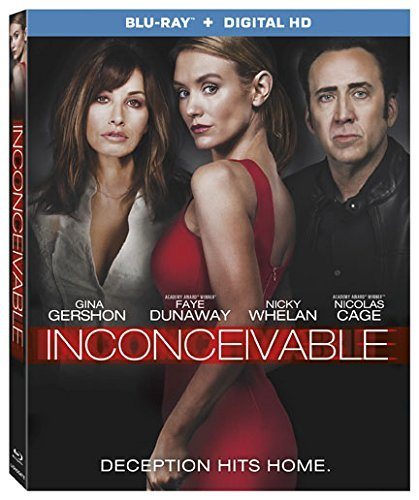 Inconceivable Cage Whelan Gershon Blu Ray R