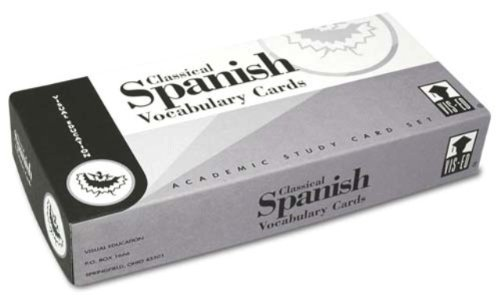 Vis Ed (visual Education) Classical Spanish Vocabulary Cards