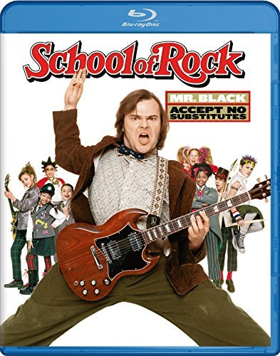 School Of Rock Black Cusack Blu Ray Pg13