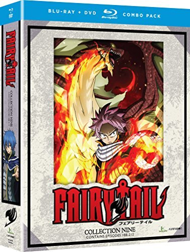 Fairy Tail Collection 9 Blu Ray DVD
