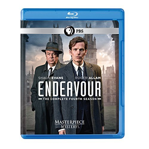 Endeavour Series 4 Blu Ray