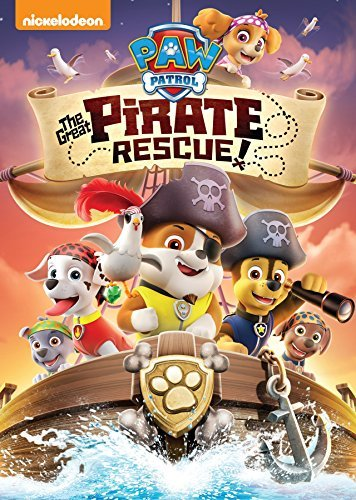 Paw Patrol Great Pirate Rescue! DVD Nr
