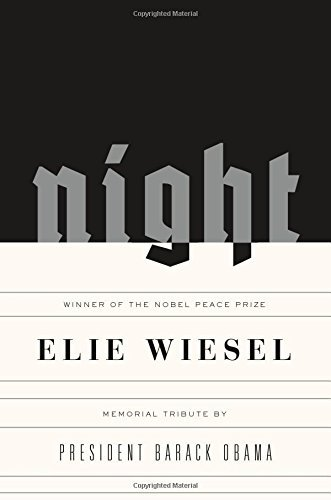 Elie Wiesel Night A Memoir