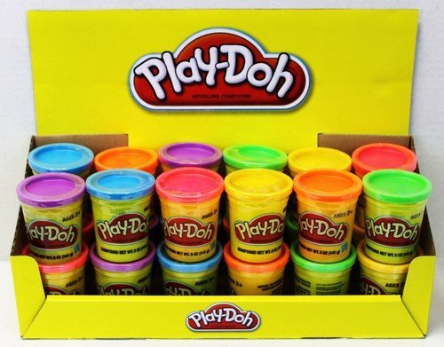 Play Doh 5oz Can Assorted