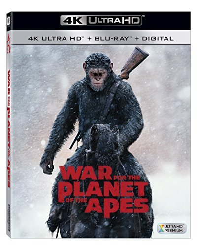 Planet Of The Apes War For The Planet Of The Apes Serkis Harrelson Zahn 4khd Pg13