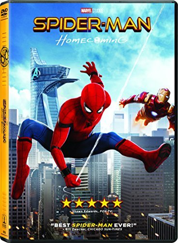 Spider Man Homecoming Holland Keaton Downey Jr. DVD Pg13