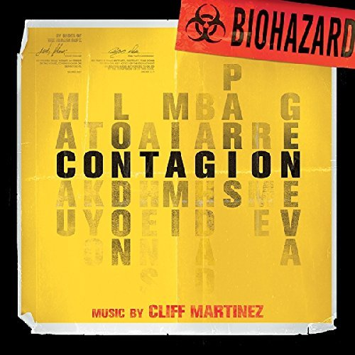 "Contagion Original Motion Picture Soundtrack Limited Gold & Red ""biohazard"" Vinyl Edition"