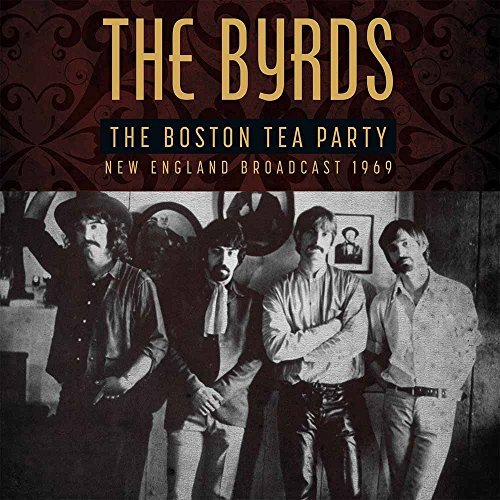 Byrds Boston Tea Party Lp