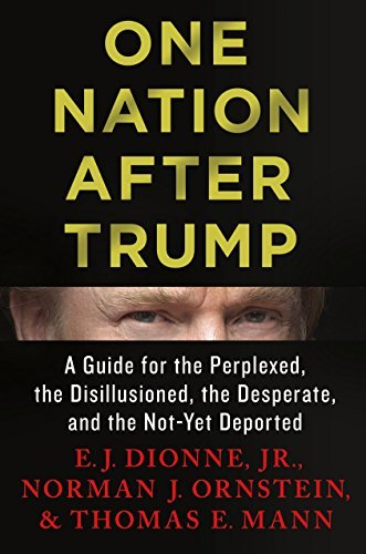 E. J. Dionne One Nation After Trump A Guide For The Perplexed The Disillusioned The