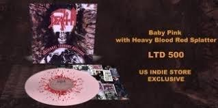 Death Individual Thought Patterns (baby Pink With Blood Splatter Vinyl)