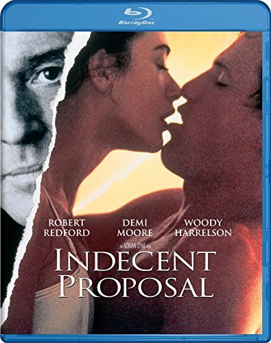 Indecent Proposal Redford Harrelson Moore Platt Blu Ray R