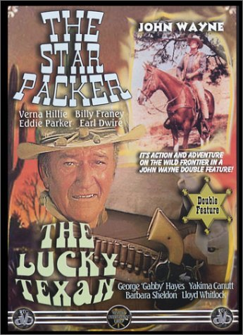 Star Packer Lucky Texan Wayne John Bw Nr