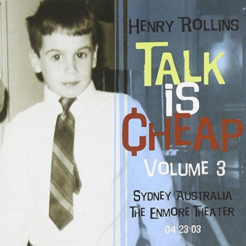 Henry Rollins Vol. 3 Talk Is Cheap 2 CD Set