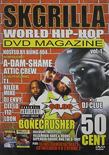 Skgrilla World Hip Hop DVD Mag Skgrilla World Hip Hop DVD Mag Clr Nr