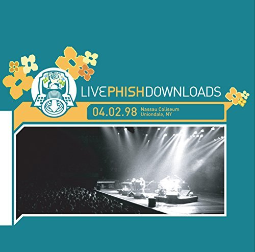 Phish 4 2 98 Nassau Coliseum Unionda 2 CD