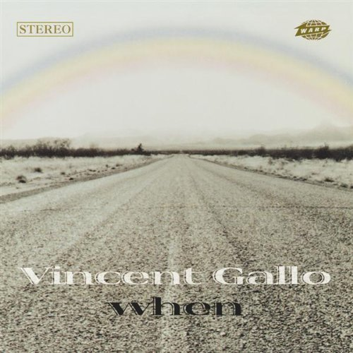 Vincent Gallo When Lmtd Ed.