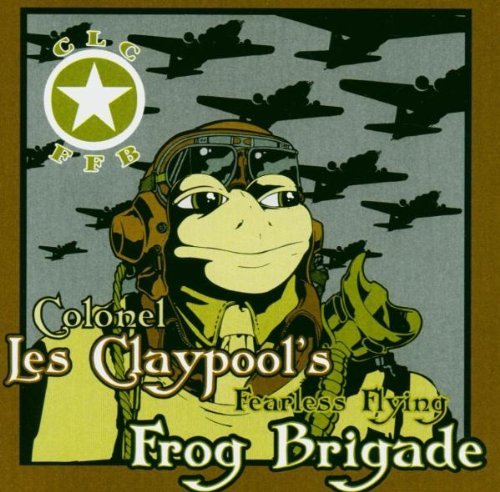 Les Colonel Frog Brig Claypool Live Frogs Set 1