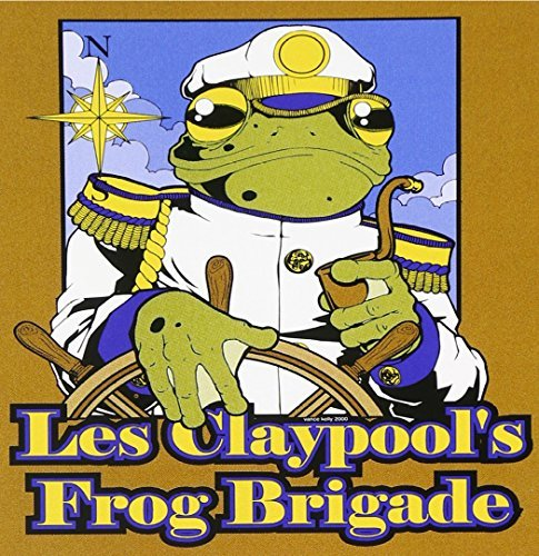 Les Colonel Fearless Claypool Live Frogs Set 2
