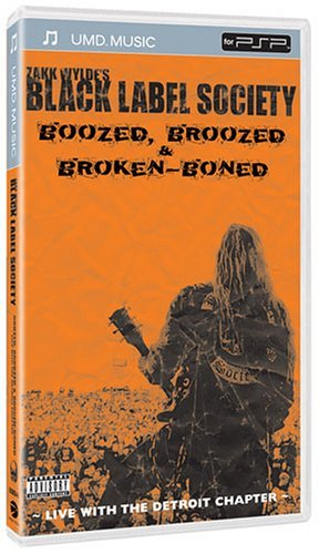Boozed Broozed & Broken Boned Wylde Zakk & Black Label Socie Clr Umd Ntsc(0)