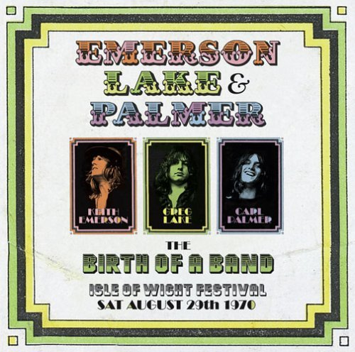 Emerson Lake & Palmer Live At Isle Of Wight Festival Dualdisc