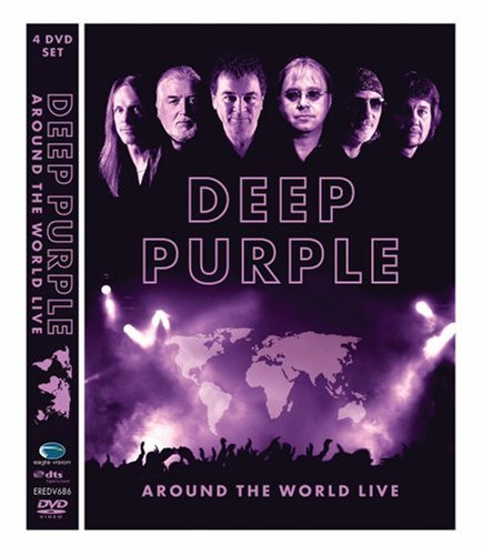 Deep Purple Around The World Live Ntsc(0)4 DVD