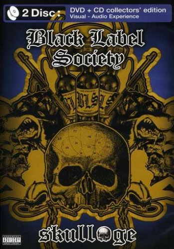 Black Label Society Skullage Greatest Hits Explicit Version Incl. CD