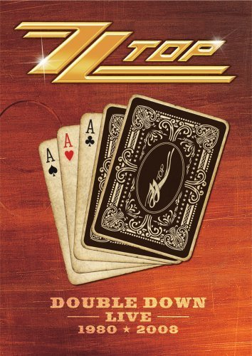 Zz Top Double Down Live 1980 & 2008 2 DVD