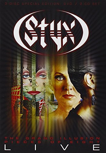 Styx Grand Illusion Pieces Of Eight Incl. 2 CD