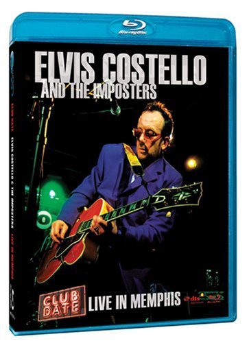 Elvis Costello Club Date Live In Memphis Blu Ray