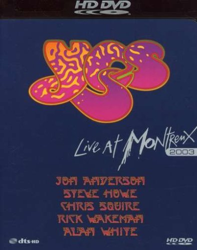 Yes Live At Montreux 2003 Hd DVD Ntsc(0)