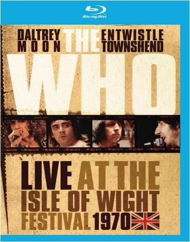 Who Live At The Isle Of Wight Fest Blu Ray Ws Nr