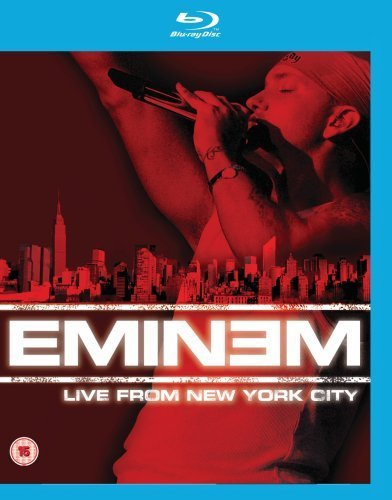 Eminem Live From New York City Blu Ray Explicit Version