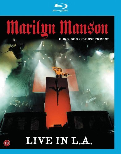 Marilyn Manson Guns God & Government Live In Blu Ray Guns God & Government Live In