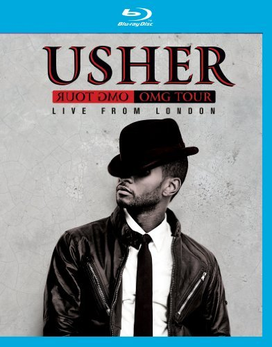Usher Omg Tour Live From London Blu Ray