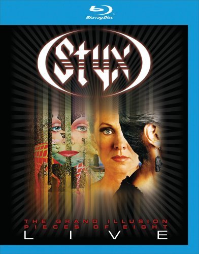 Styx Grand Illusion Pieces Of Eight Blu Ray Nr