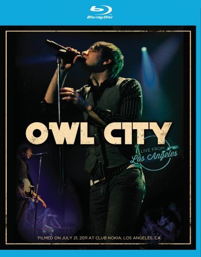 Owl City Owl City Live From Los Angele Blu Ray Nr