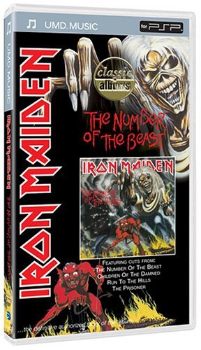 Number Of The Best Classic Alb Iron Maiden Clr Umd